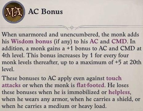 AC Bonus Faith Hunter Inquisitor Pathfinder Wrath of the Righteous Build