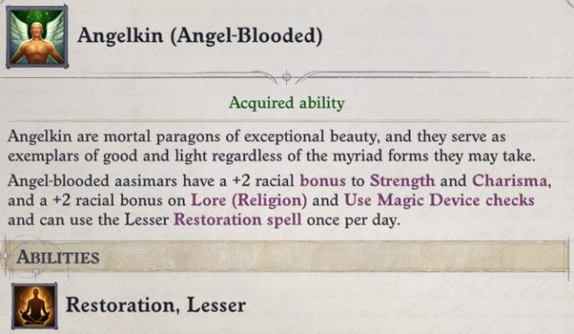 Angelkin (Angel-Blooded) Heritage Primalist Bloodrager Pathfinder Wrath of the Righteous Build