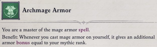 Archmage Armor Mythic Ability Primalist Bloodrager Pathfinder Wrath of the Righteous Build