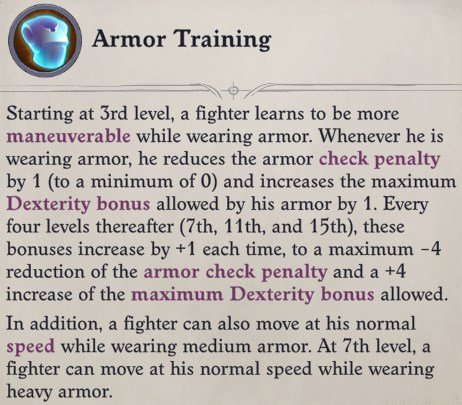 Armor Training Regill Pathfinder Wrath of the Righteous Build
