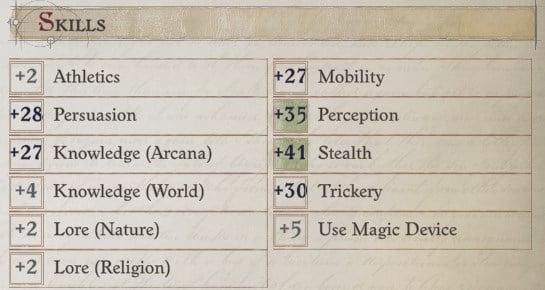Arueshalae Skills at Level 20 Arueshalae Pathfinder Wrath of the Righteous Build