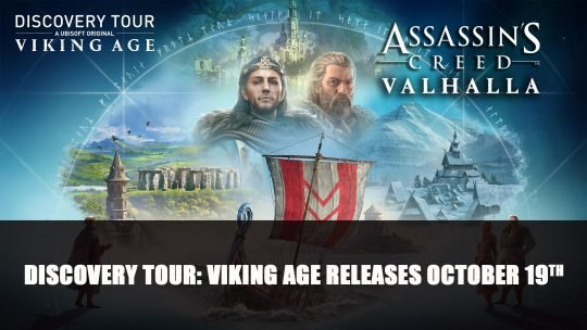 Assassin's Creed Valhalla's Discovery Tour Releases October 19th as Free Expansion