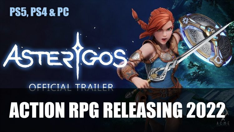 Asterigos an Action RPG Announced for PS5, PS4 and PC