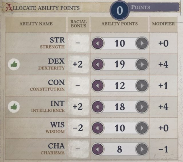 Attributes at Level 1 Eldritch Archer Magus Pathfinder Wrath of the Righteous Build