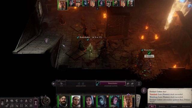 Boneshaker Spell in Combat Daeran Pathfinder Wrath of the Righteous Build