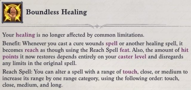 Boundless Healing Mythic Ability Faith Hunter Inquisitor Pathfinder Wrath of the Righteous Build