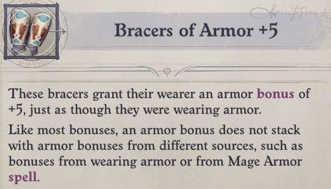 Bracers of Armor +5 Arueshalae Pathfinder Wrath of the Righteous Build