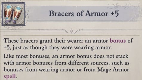 Bracers of Armor Delamere Pathfinder Wrath of the Righteous Build