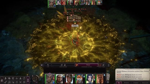 Cleave with Dazzling Display in Combat Primalist Bloodrager Pathfinder Wrath of the Righteous Build
