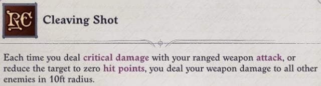Cleaving Shot Mythic Ability Eldritch Archer Magus Pathfinder Wrath of the Righteous Build
