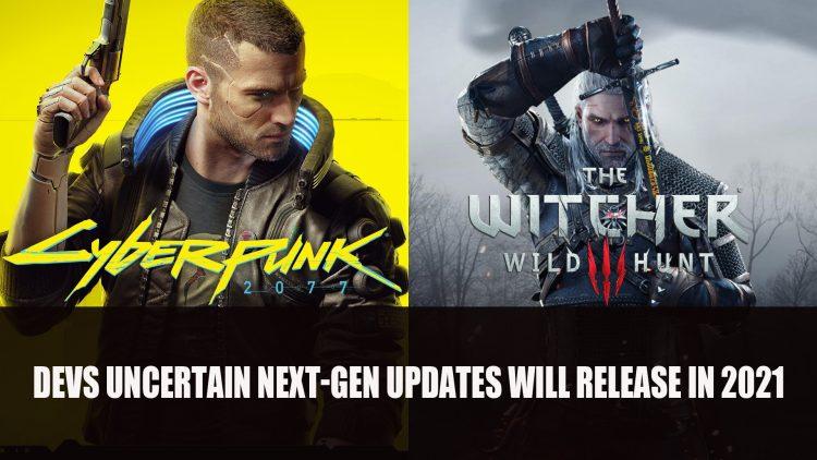 CD Projekt Red Uncertain Next-Gen Cyberpunk and Witcher 3 Updates Will Arrive this Year