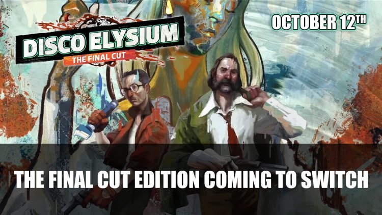 Disco Elysium The Final Cut Switch Edition Launches October 12th