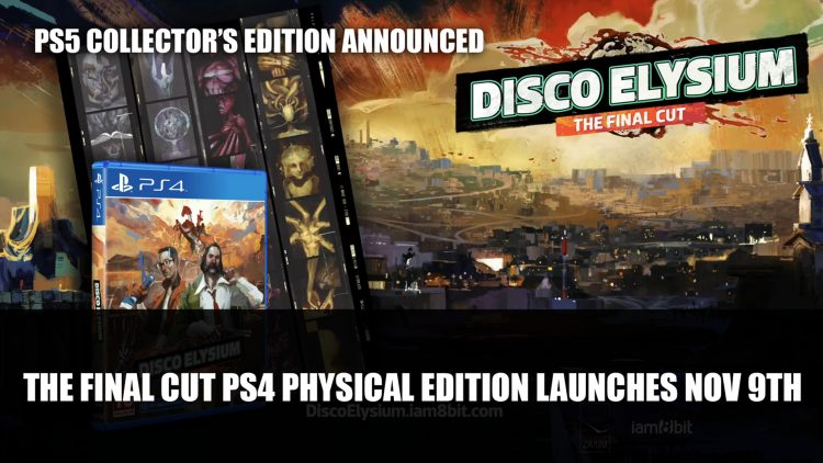 Disco Elysium: The Final Cut PS4 Physical Edition Launches November 9th