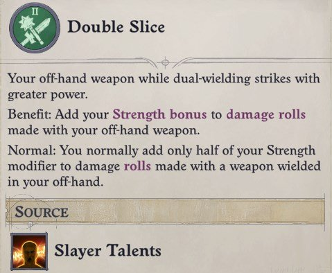 Double Slice Feat Greybor Pathfinder Wrath of the Righteous Build