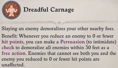 Dreadful Carnage Feat Primalist Bloodrager Pathfinder Wrath of the Righteous Build
