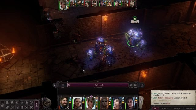Enlarge Person in Combat Lann Companion Build Pathfinder WotR