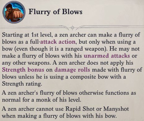 Flurry of Blows Faith Hunter Inquisitor Pathfinder Wrath of the Righteous Build