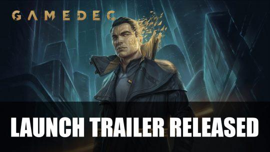 Gamedec Launch Trailer Released