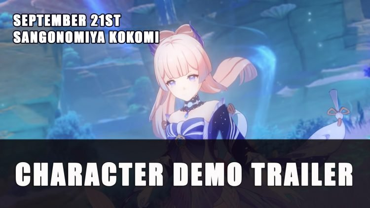 Genshin Impact Gets Sangonomiya Kokomi Character Demo Trailer