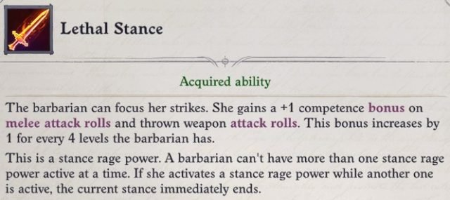 Lethal Stance Rage Power Primalist Bloodrager Pathfinder Wrath of the Righteous Build