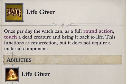Life Giver Hex Ember Build Guide Pathfinder WotR