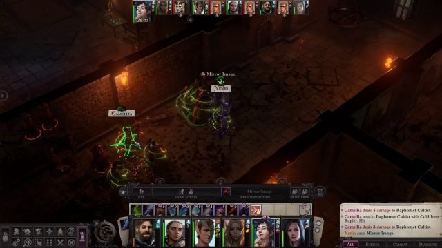 Mirror Image in Combat Nenio Build Pathfinder Wrath of the Righteous Guide