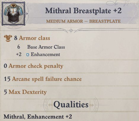 Mithral Breastplate Spell Eldritch Archer Magus Pathfinder Wrath of the Righteous Build