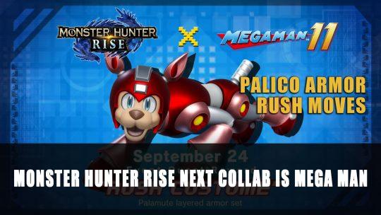 Monster Hunter Rise Next Collab is Mega Man