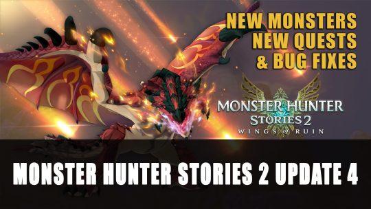 Monster Hunter Stories 2: Wings of Ruin Update 4 Trailer (Version 1.4.0)