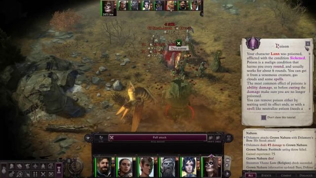Normal Attacks in Combat Delamere Pathfinder Wrath of the Righteous Build