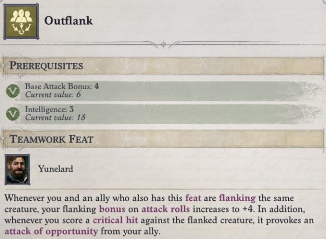 Outflank Feat Woljif Pathfinder Wrath of the Righteous Build