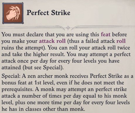Perfect Strike Feat Faith Hunter Inquisitor Pathfinder Wrath of the Righteous Build
