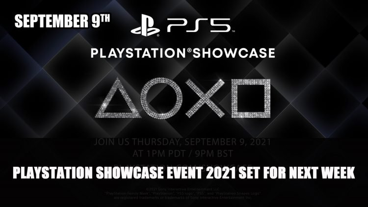 Playstation Showcase Event 2021 Set for Next Week