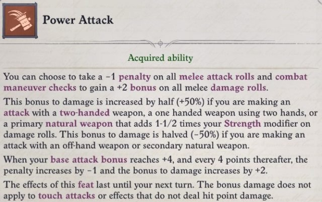 Power Attack Feat Primalist Bloodrager Pathfinder Wrath of the Righteous Build