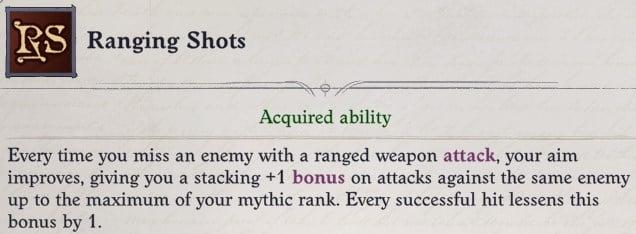 Ranging Shots Mythic Ability Arueshalae Pathfinder Wrath of the Righteous Build