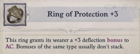 Ring of Protection Woljif Pathfinder Wrath of the Righteous Build
