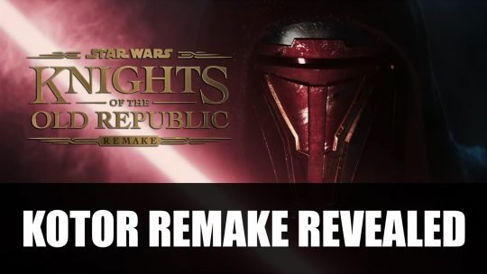 Knights of the Old Republic Remake for PS5 Announced During Playstation Showcase