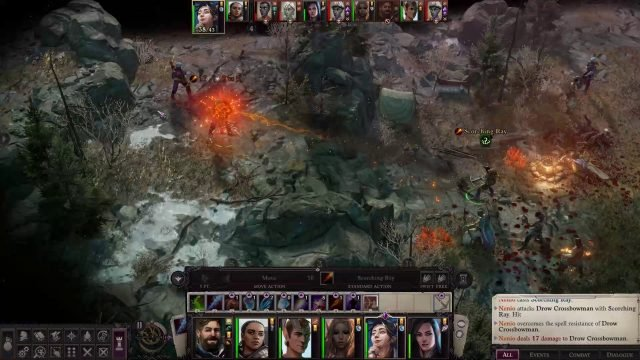 Scorching Ray in Combat Nenio Build Pathfinder Wrath of the Righteous Guide