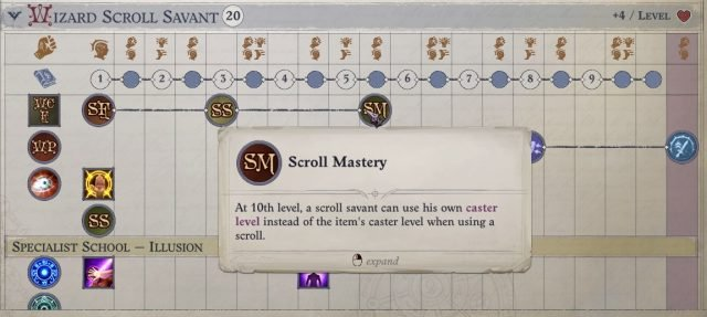 Scroll Mastery Bonus Feat Nenio Build Pathfinder Wrath of the Righteous Guide