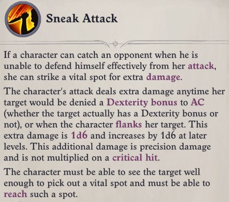 Sneak Attack Greybor Pathfinder Wrath of the Righteous Build