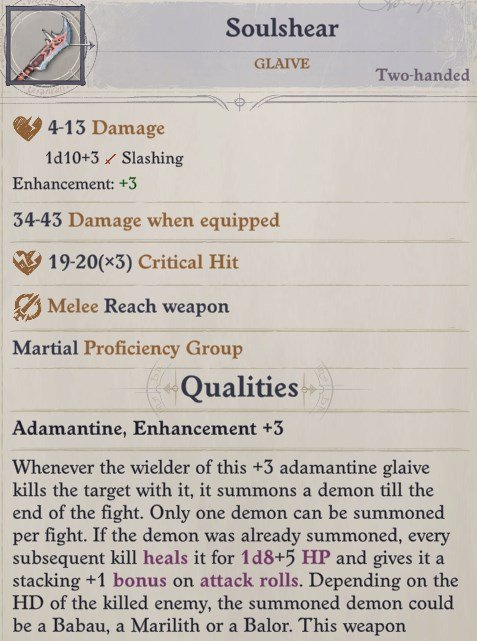 Soulshear Glaive Primalist Bloodrager Pathfinder Wrath of the Righteous Build