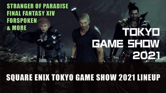 Square Enix Announces Tokyo Game Show 2021 Online Lineup Schedule