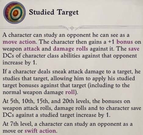 Studied Target Ability Delamere Pathfinder Wrath of the Righteous Build