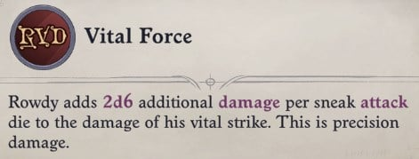 Vital Force Delamere Pathfinder Wrath of the Righteous Build