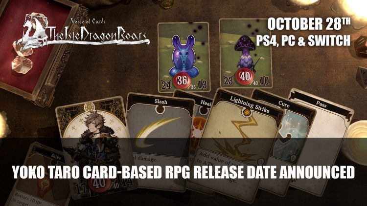 Voice of Cards: The Isle of Dragon Roars A Card-Based RPG Gets Announcement Trailer