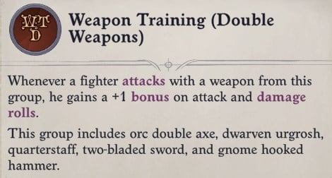 Weapon Training Regill Pathfinder Wrath of the Righteous Build