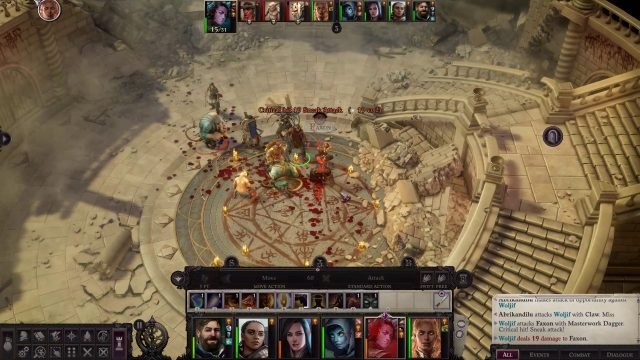 Woljif Critical Hit in Combat Woljif Pathfinder Wrath of the Righteous Build
