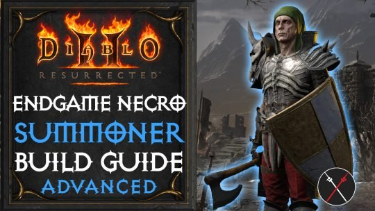 Necromancer Build Guide Diablo 2 Resurrected | Summoner Necro