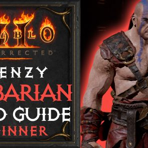 Barbarian Build Guide Diablo 2 Resurrected | Frenzy Barbarian