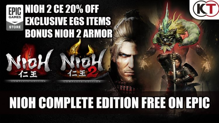 Nioh: Complete Edition is Free on the Epic Games Store